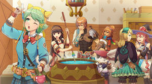 Atelier Shallie - What's the Ingredient? by emubi