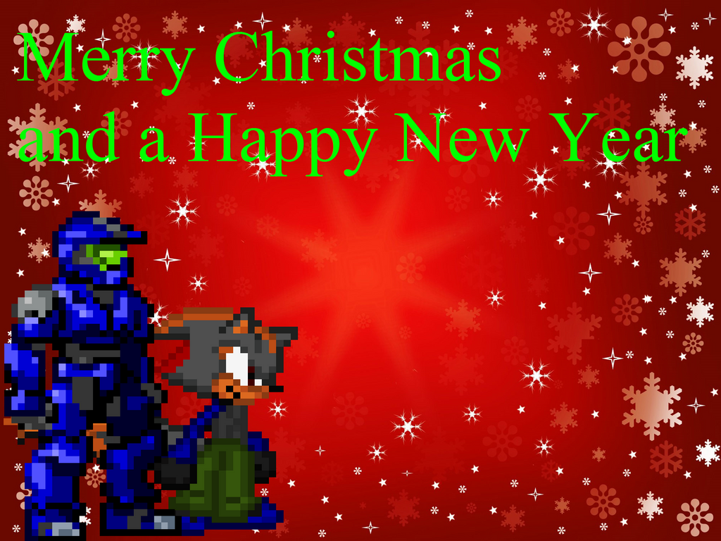 Late Christmas Card By Rangersteel On Deviantart