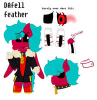 DAfell feather ref (lotsa info in the description) by featherblaz