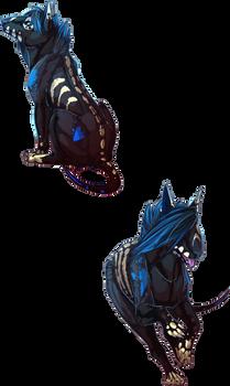 Pose commission: thevampirebat