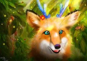 joy the fox
