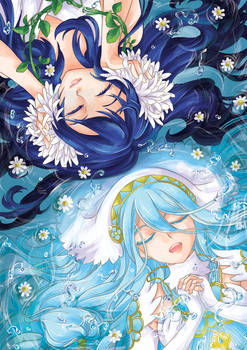 FE - Aqua and Lucina