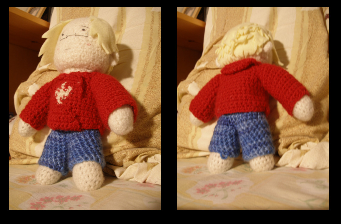APH: Crocheted Canada Plushie by salvationtoakuma