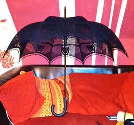 parasol black by Sky-Art-Design
