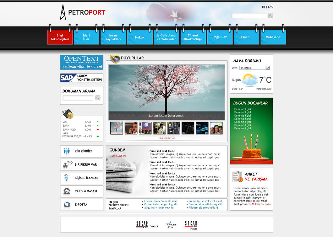intranet portal design templates sharepoint intranet portal by blackiron on deviantart