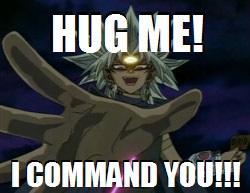Command Hug by TheYummyCupcake