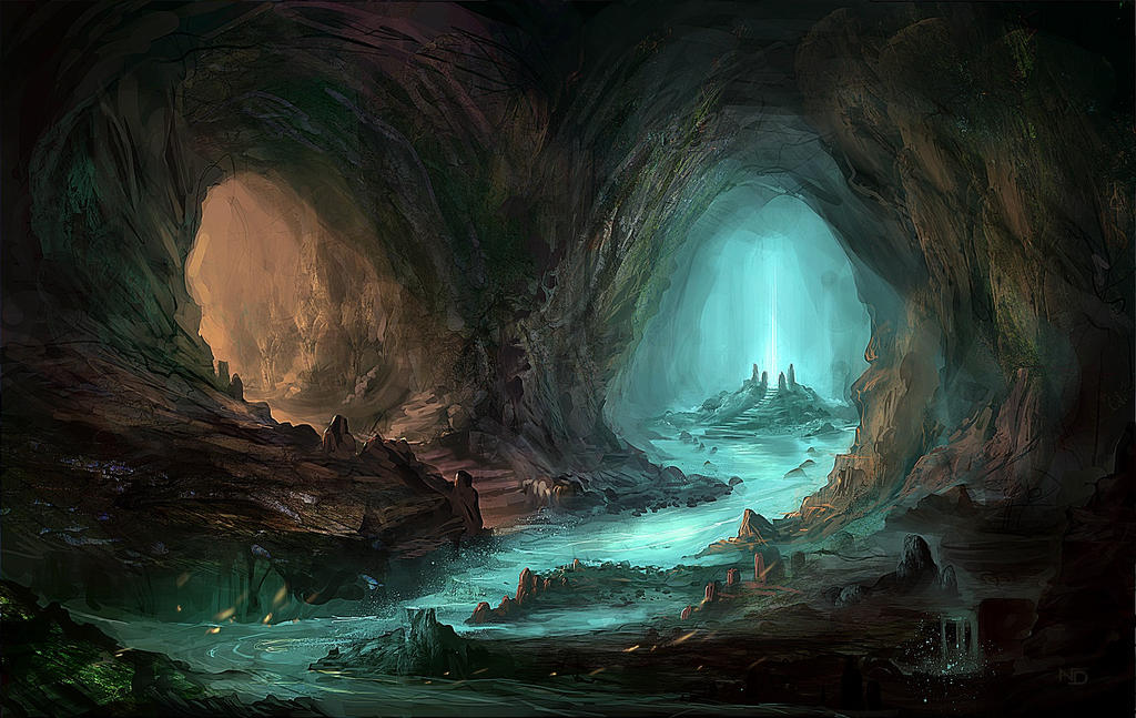 98 Sketch Wallpapers Wallpaper Cave Sketches Wallpapers: Cave By Nele-Diel On DeviantArt