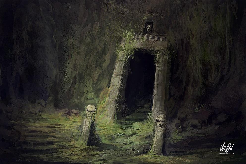 Entrance (Update) by Nele-Diel