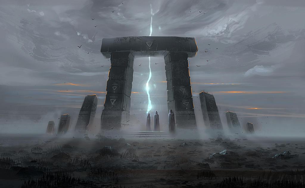 Shrine of Gods by Nele-Diel