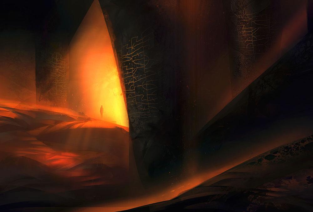 Desert Cave by Nele-Diel