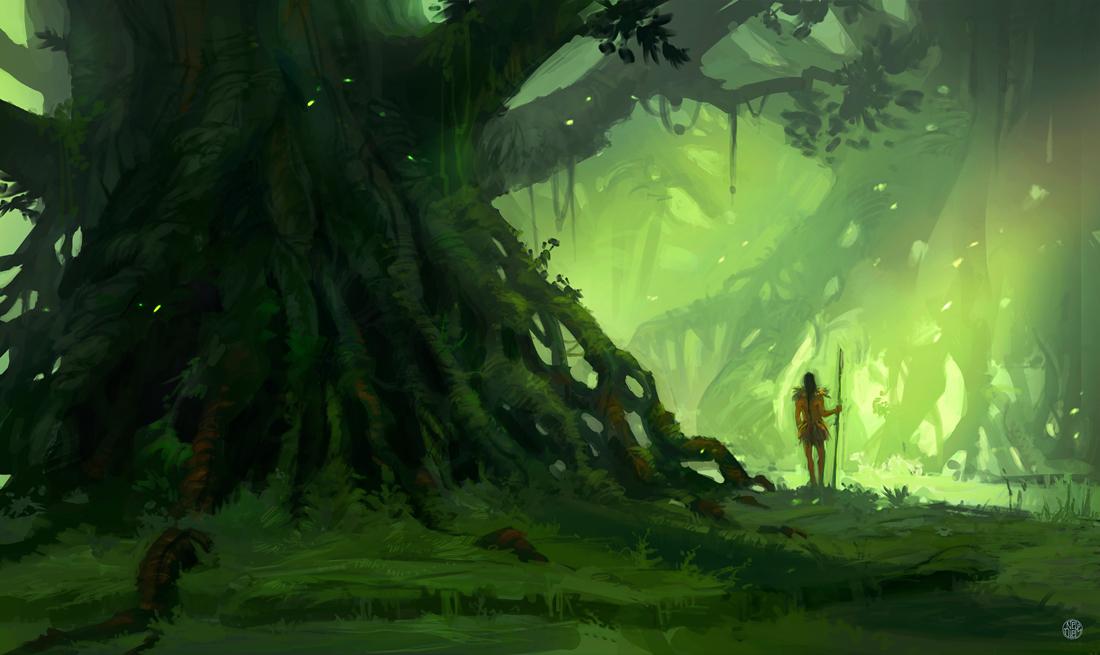 Jungle Guardian by Nele-Diel