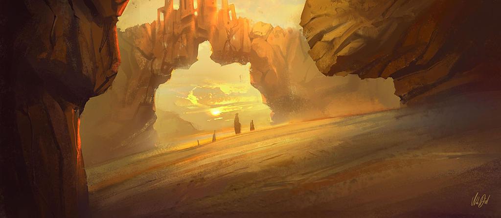Castle of the Sun by Nele-Diel