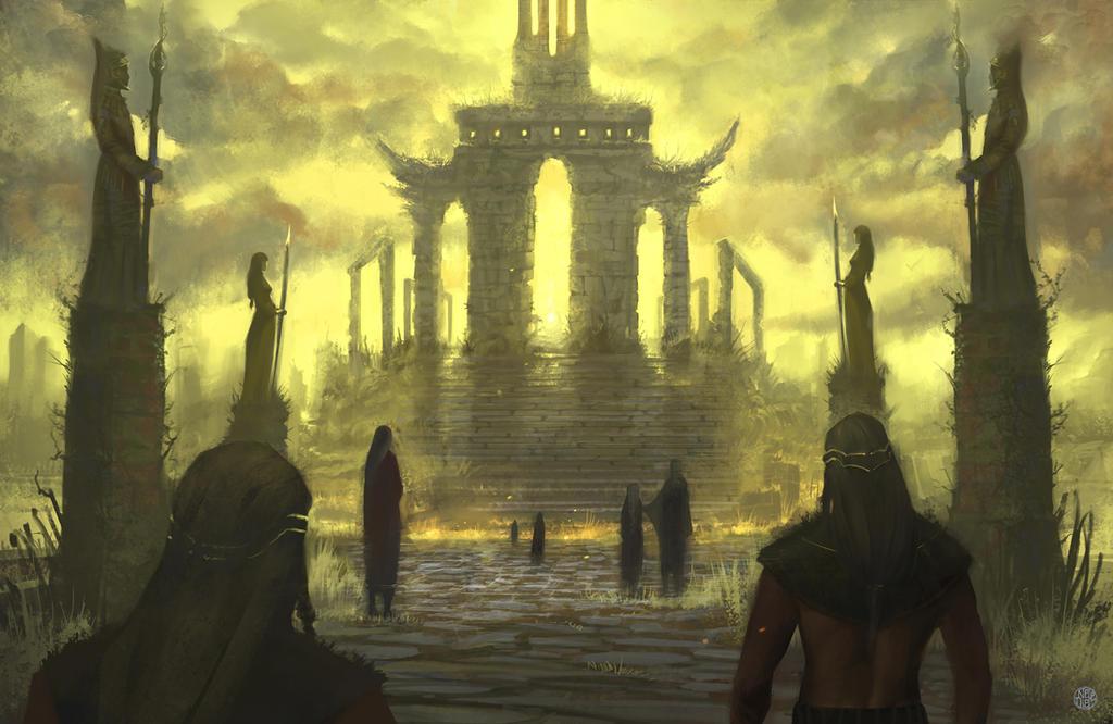 Sun Temple by Nele-Diel