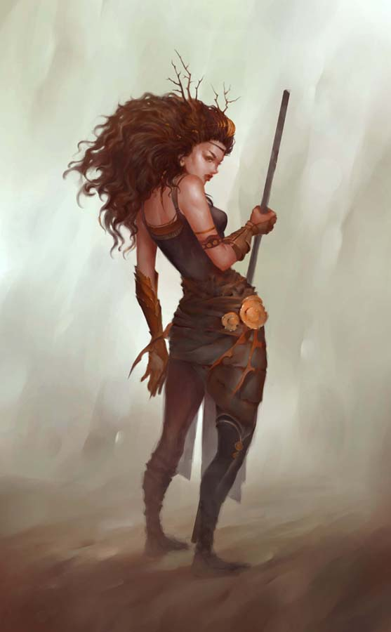 Warrior Princess by Nele-Diel