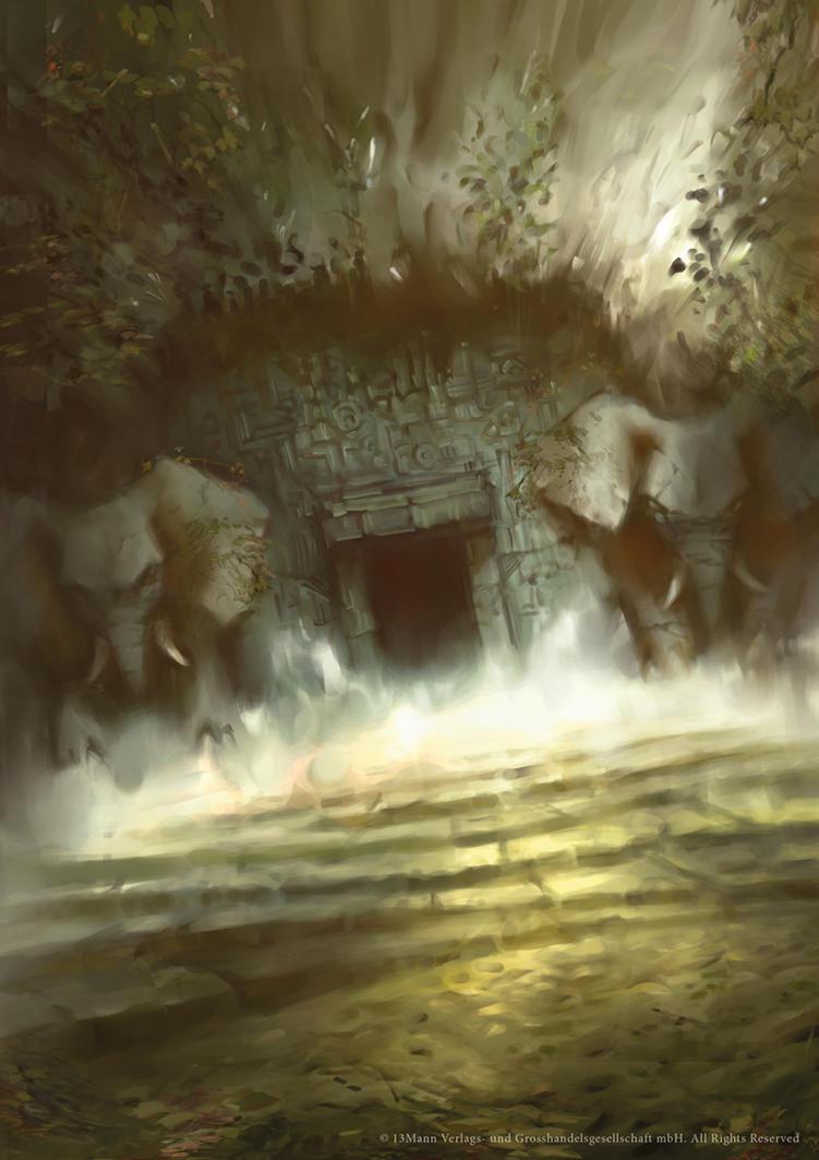 Burial Chambers by Nele-Diel