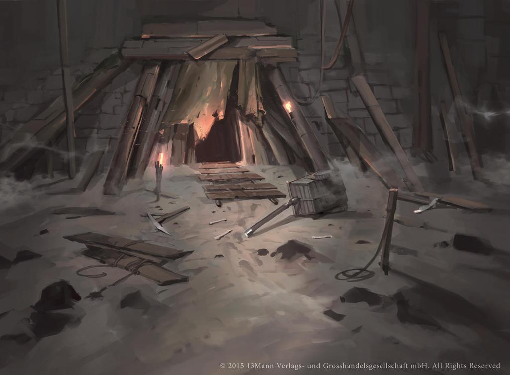 Creepy Mine by Nele-Diel