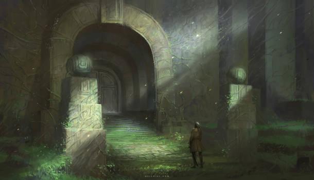 Entrance by Nele-Diel
