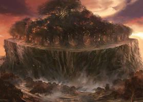 Court of Oaks by Nele-Diel