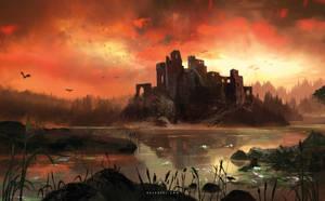 Burning Sky by Nele-Diel