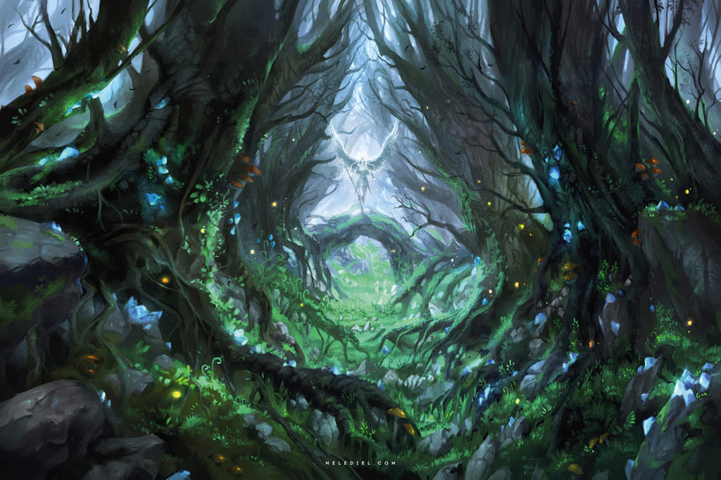 Magical Forest By Nele Diel On Deviantart