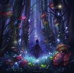 Dark Mushroom Forest