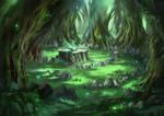 Magical Glade (time-lapse video)