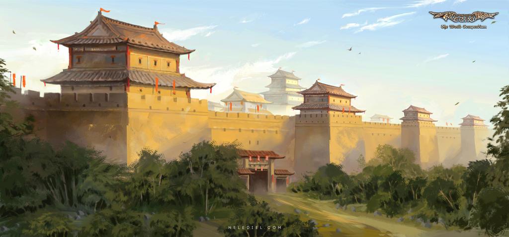 City Wall by Nele-Diel