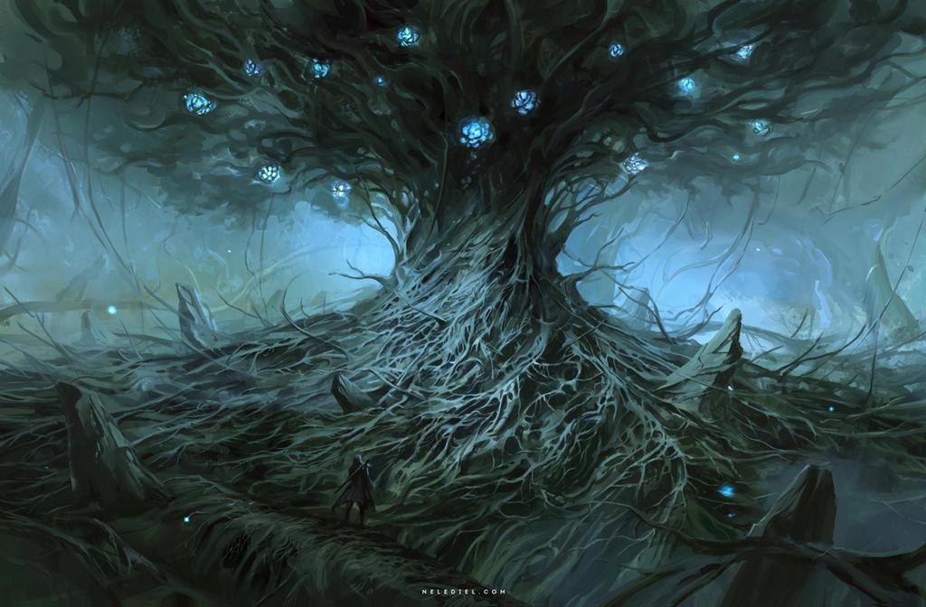 Ancient Tree by Nele-Diel