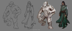 Character/Creature Illustration
