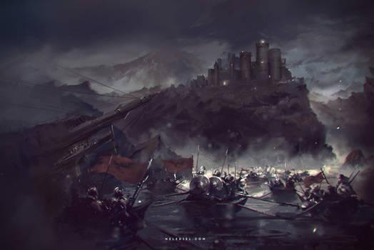 Towards the Dark Castle