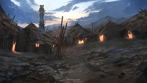 Tribal Village by Nele-Diel