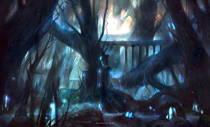 Elven Forest by Nele-Diel