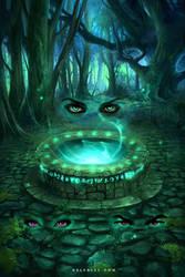 The forgotten Well by Nele-Diel