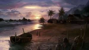 Settlement at the Beach.