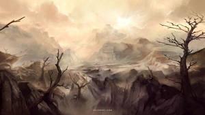 Lifeless Desert by Nele-Diel