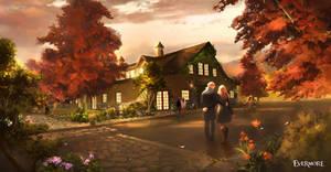 The Old Barn by Nele-Diel