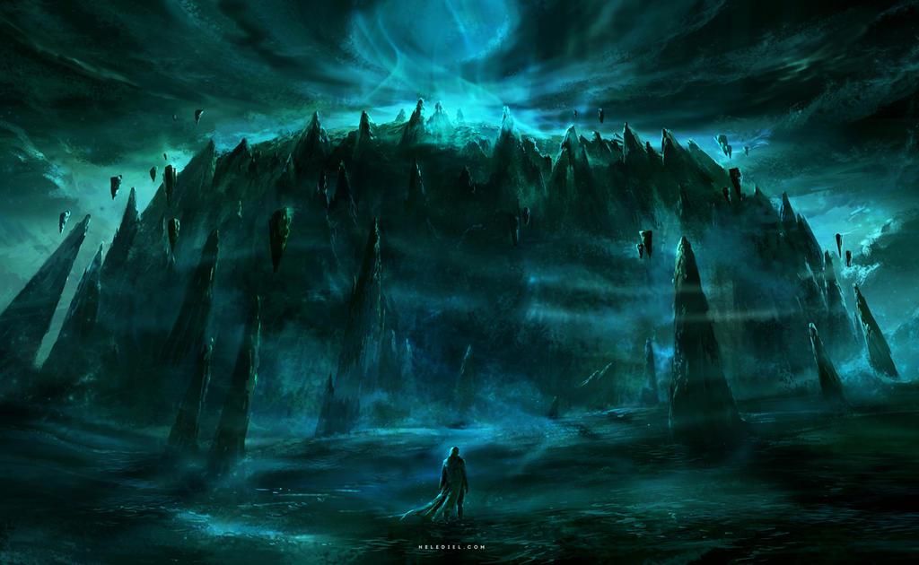The Unseen Island by Nele-Diel
