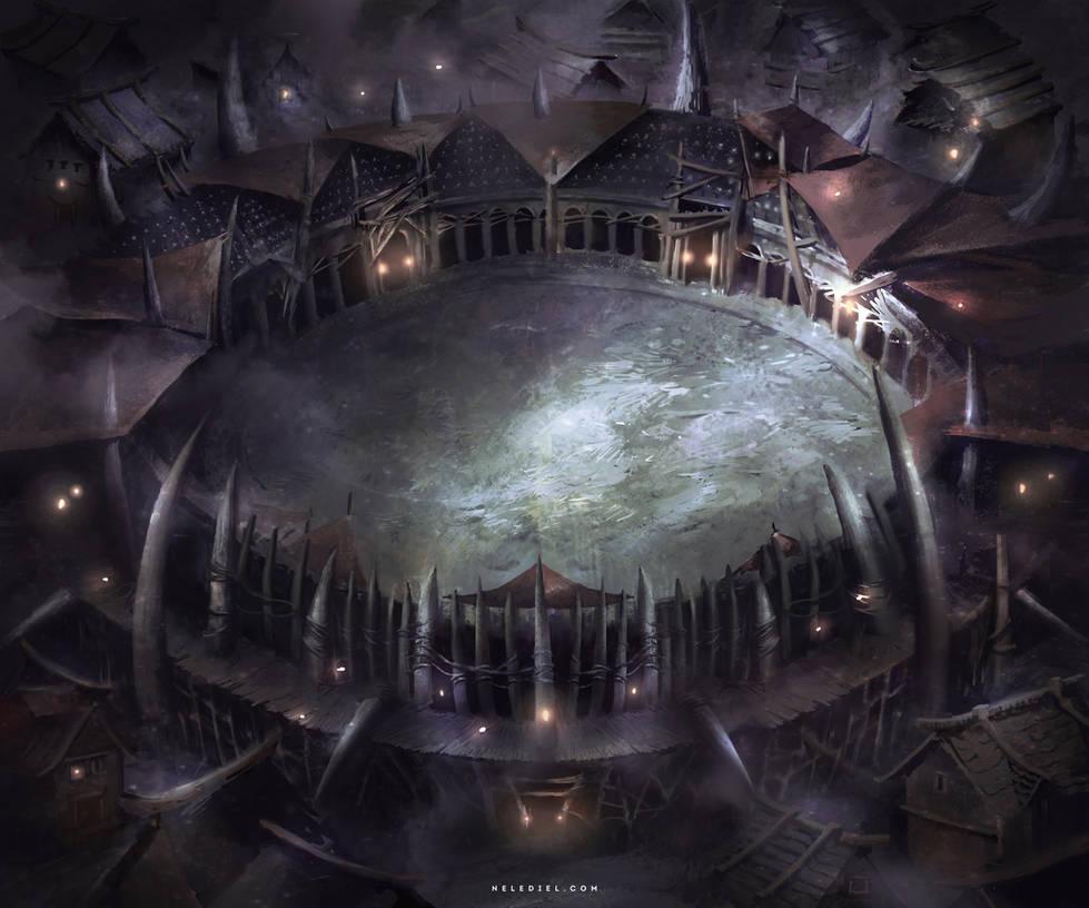 Demonic Arena By Nele-Diel On DeviantArt