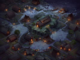 Viking Village by Nele-Diel