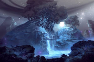 Sacred Waters by Nele-Diel