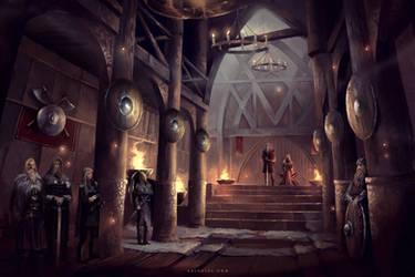 Viking Hall by Nele-Diel