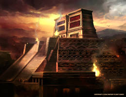 The Grand Temple by Nele-Diel