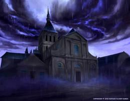 <b>Storm Over The Church</b><br><i>Nele-Diel</i>