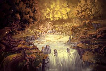 Well of the Golden Tree by Nele-Diel