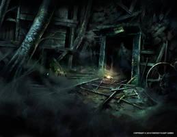 Abandoned Mine by Nele-Diel