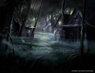 Hermit's House by Nele-Diel