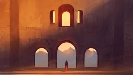 Sunset Silence by Nele-Diel