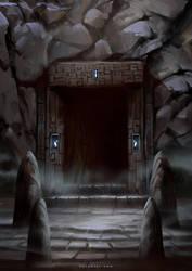 Sealed Dungeon by Nele-Diel