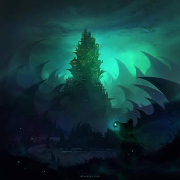 Domicile of the Magical Council by Nele-Diel