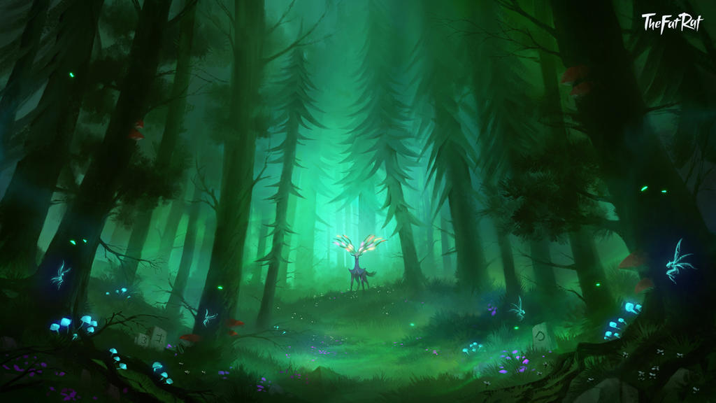 Magic in the Forest by Nele-Diel